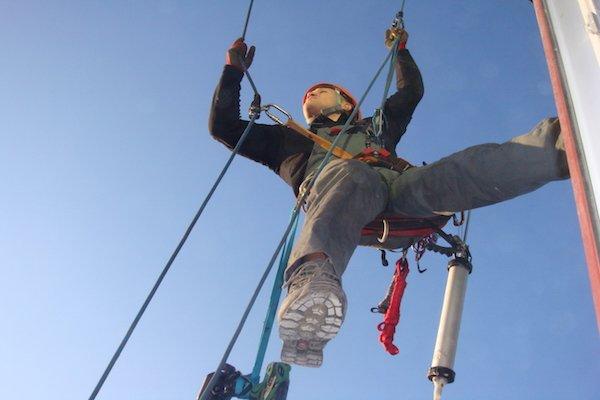 высотные работы альпинистами