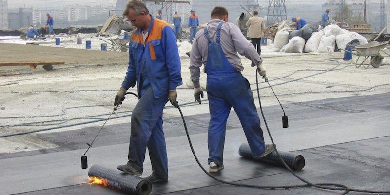 частичный ремонт крыши