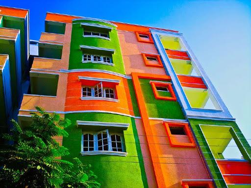 краски для фасада