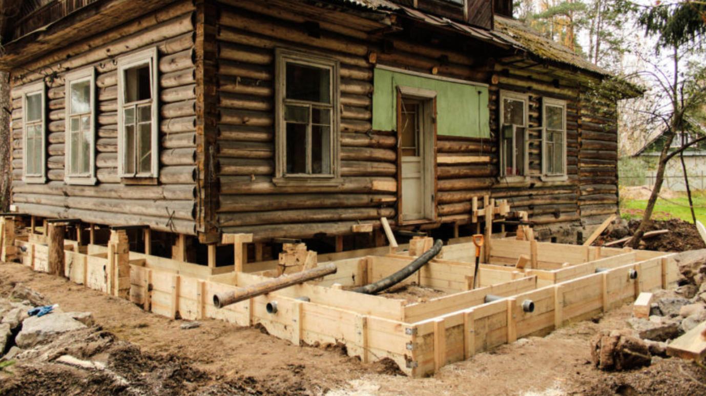 ремонт деревянного фасада