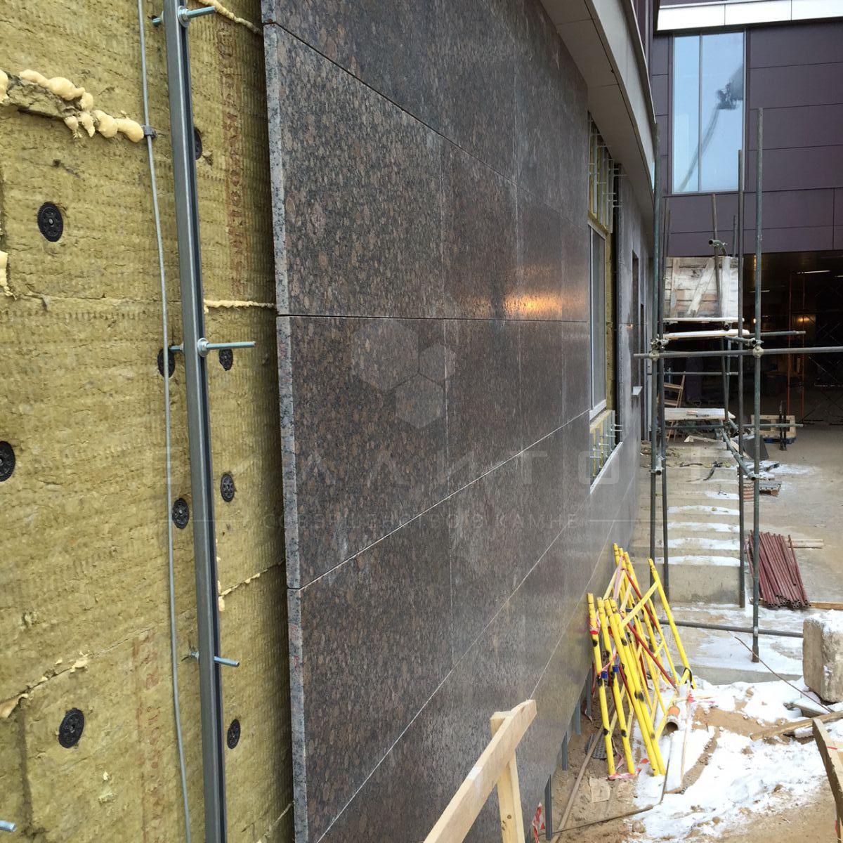 ремонт фасада из камня