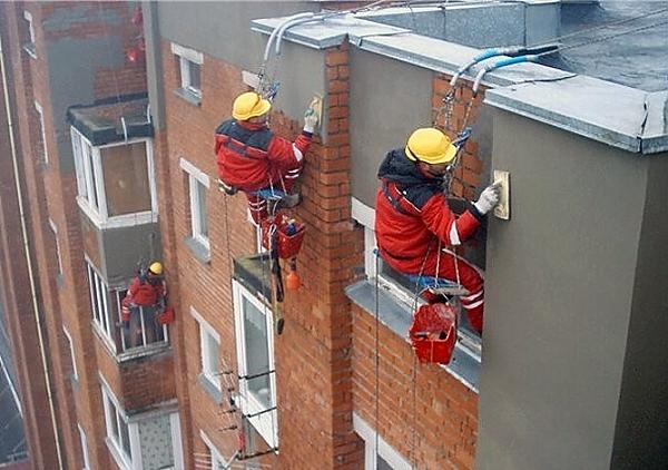 ремонт трещин фасада Москва