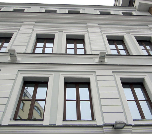 реставрация штукатурки фасада