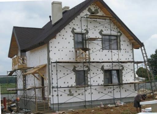 утепление фасада пенопластом