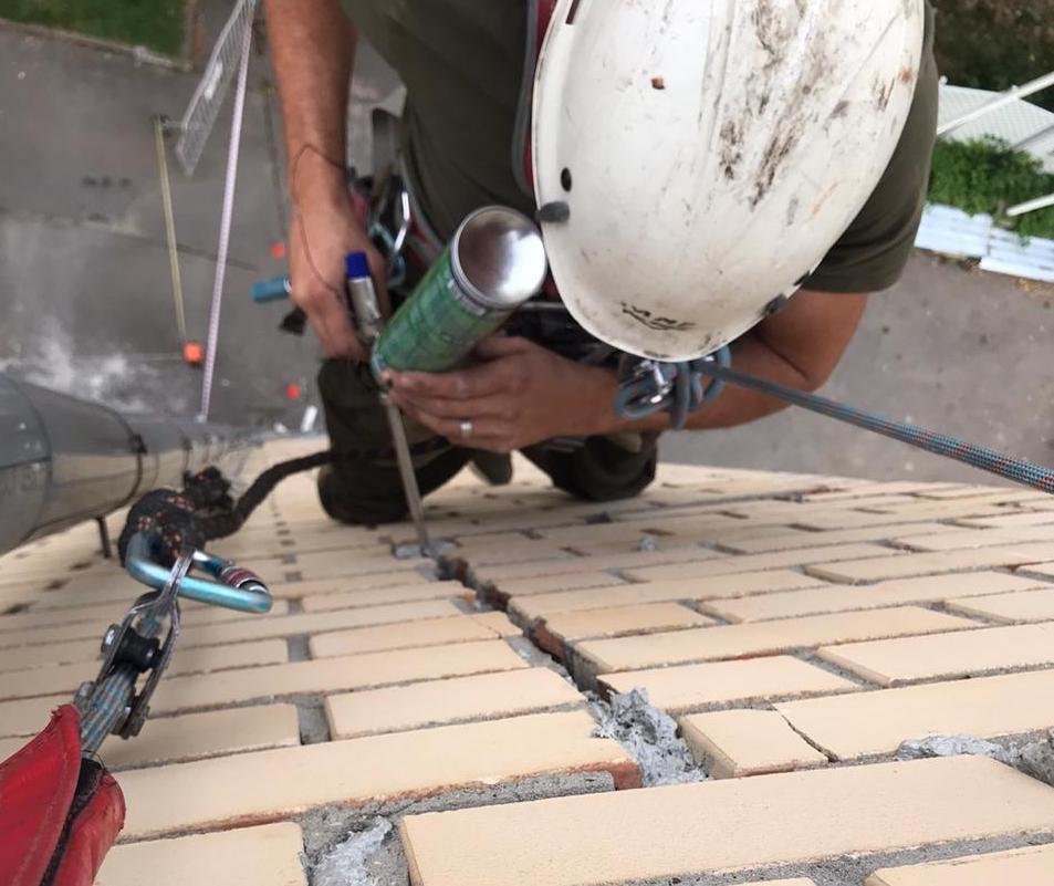 ремонт трещин фасада